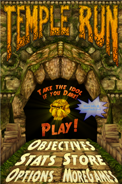 Temple Run On iPod Touch