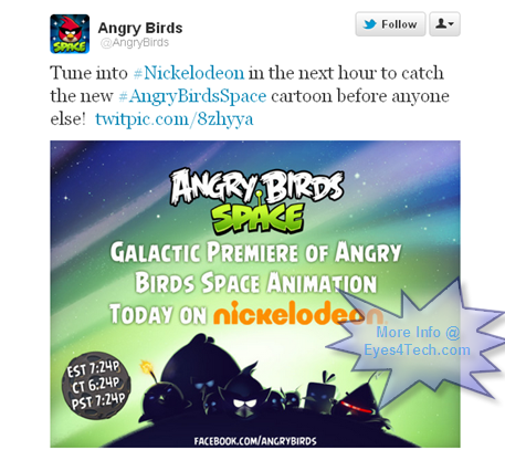 Angry Birds Space Release