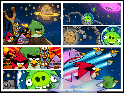 Angry Birds Space Windows Phone 7