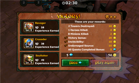 Legendary Heroes For Android Victory