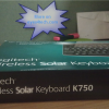 Logitech Wireless Solar Keyboard K750 Box