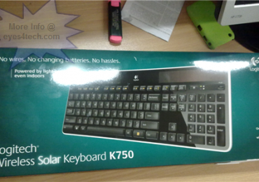 Solar Keyboard Review: Logitech Wireless Solar Keyboard K750