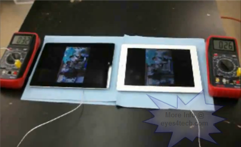 iPad 2 versus new iPad 3 Heat Comparison