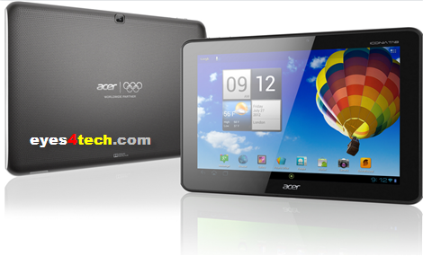ACER ICONIA TAB A510 ACER ICONIA TAB A510 Quad Core ICS Now Available