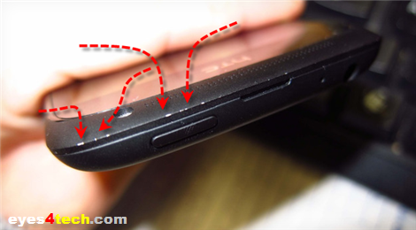 HTC One S Chipping Problem (Image:The Verge)