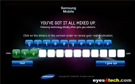 Samsung Galaxy S III New Teaser 1