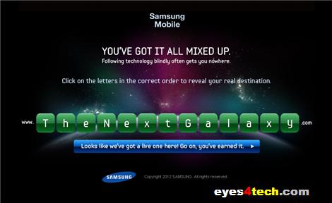Samsung Galaxy S III New Teaser 1a
