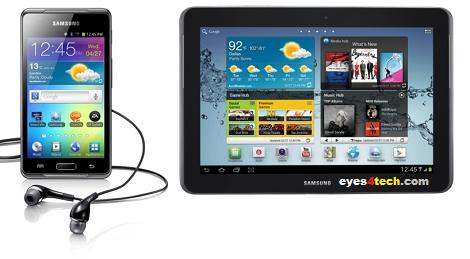 Samsung Galaxy Tab 2 And Galaxy Players