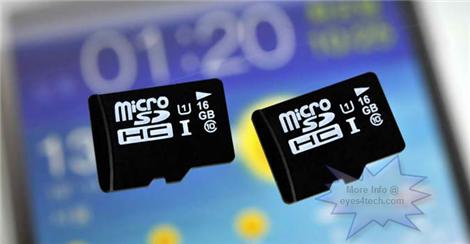 Samsung UHS-1 microSD Cards