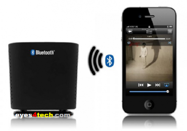Satechi Portable Audio Cube Bluetooth Speaker For iPhone And Android