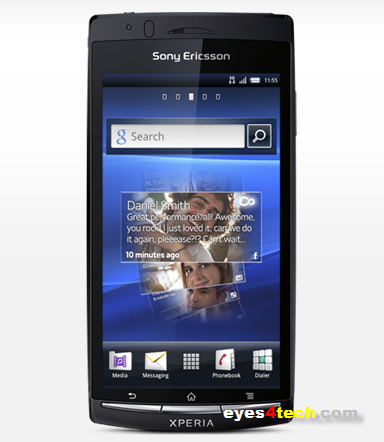 Sony Xperia Arc Ice Cream Sandwich Update For Sony Xperia 2011 Smartphones Released