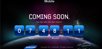 Samsung The Next Galaxy Teaser Website – Galaxy S III Maybe?