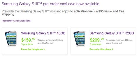 Samsung Galaxy S III Telus