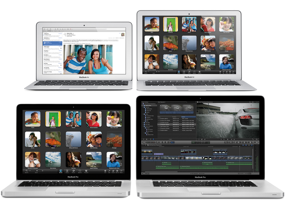 MacBook Air and MacBook Pro Now Faster With Dual-Core i5 and i7
