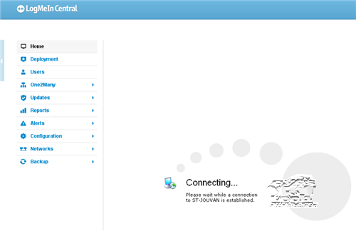 LogMeIn Central Access Computer Remotely