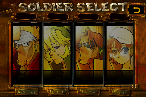 Metal Slug 3 Soldier Select
