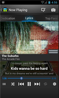 TuneWiki Lyrics for Music Best 5 Karaoke Apps for Android Built For Song Lovers