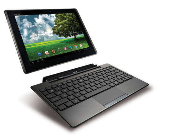 ASUS Eee Pad Transformer Top 5 Android Tablets Now In The Market