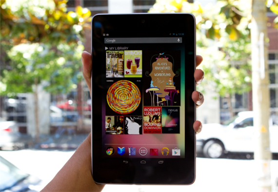 Google Nexus 7 Top 5 Android Tablets Now In The Market