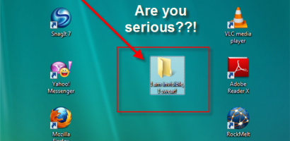 How To Make An Invisible Folder In Windows