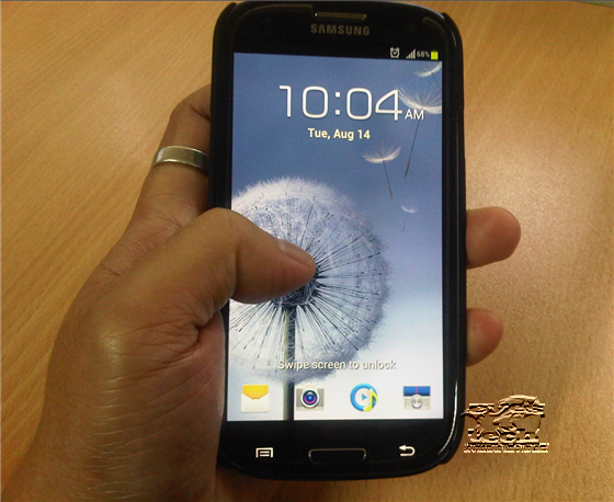 Samsung Galaxy S III Pebble Blue