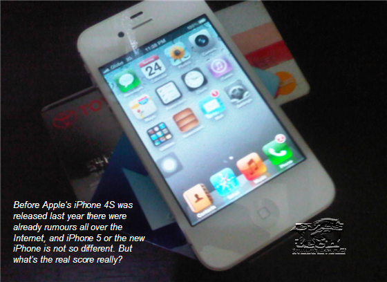 This is iPhone 4S so what will be the new features of iPhone 5