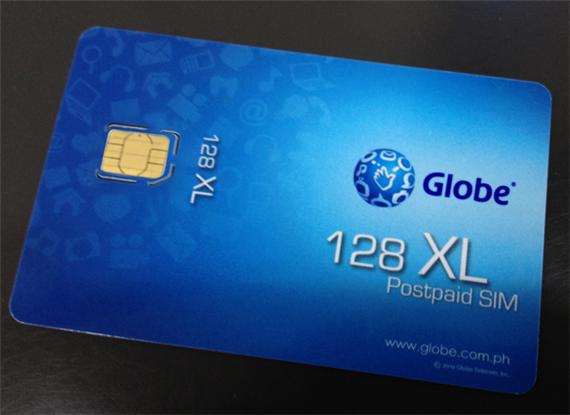 Globe iPhone 5 Nano SIM
