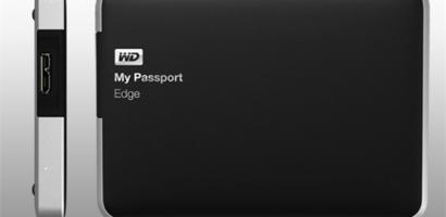My Passport® Edge™ Portable Computer External Hard Drive