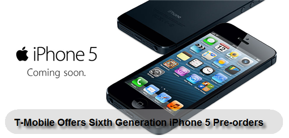Sixth Generation iPhone 5 From T-Mobile