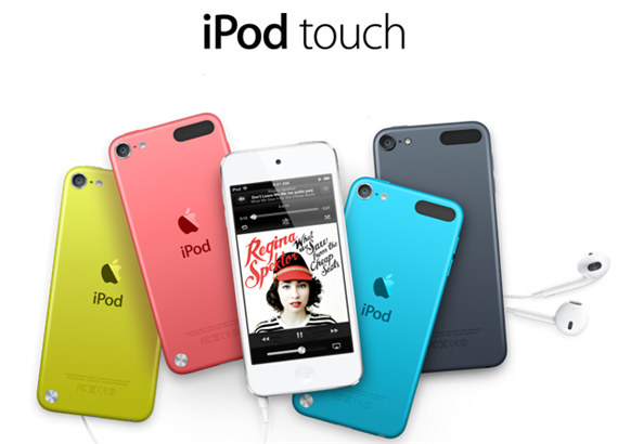 iPod Touch 5th Generation iOS 6 A5 Chip