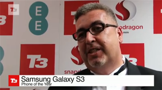 T3 Gadget Awards Gives Samsung Galaxy S III as Phone of the Year 2012