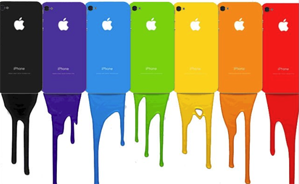 iPhone 5S Vibrant Colors Casing