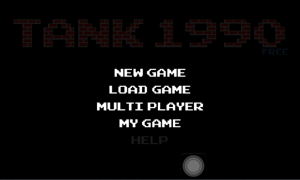 Tank 1990 Battle City Android Game App Menu