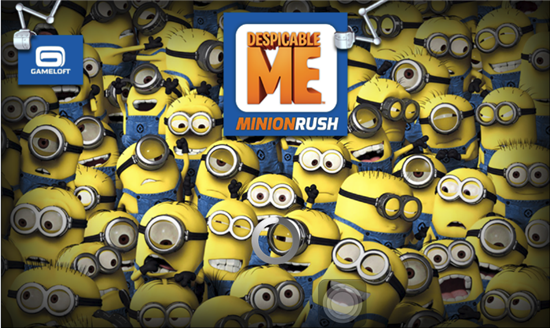 Despicable Me Minion Rush Game for Android and Apple