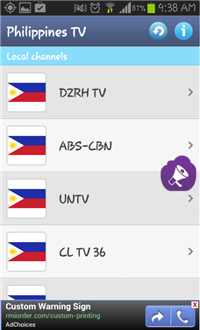 Philippines TV - Channels