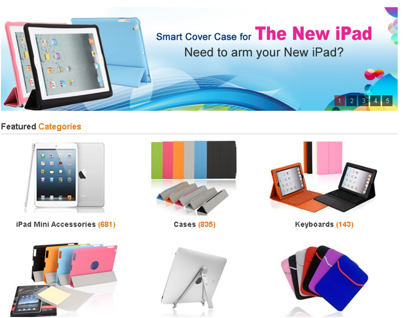 Find Your Own Unique iPad Accessories Online