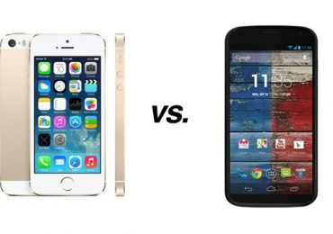 Comparison: Moto X Vs iPhone 5s
