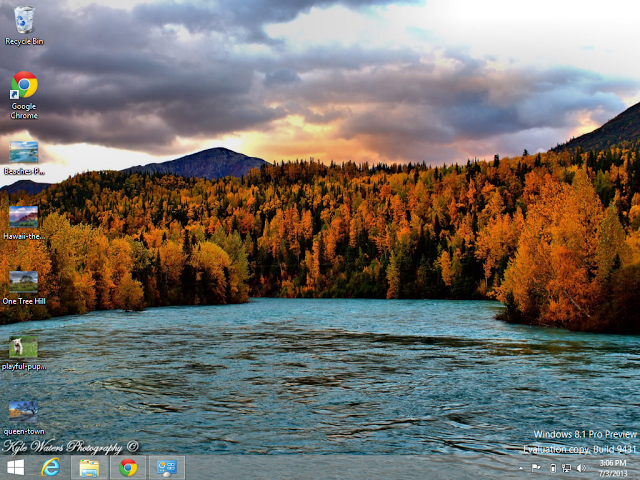 Alaskan Landscapes Top 10 Free Windows 8.1 Themes