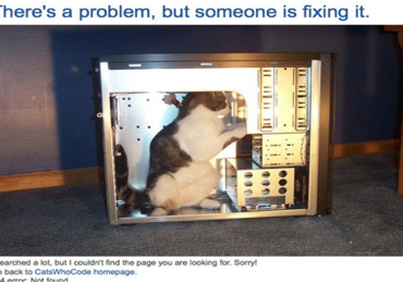 Turning the negative 404 page into a positive
