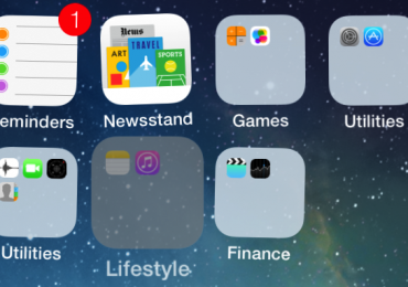 How to Create Nested Folders In iOS 7