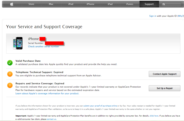 Check if an iPhone is Original or Fake - Apple Service and Support services