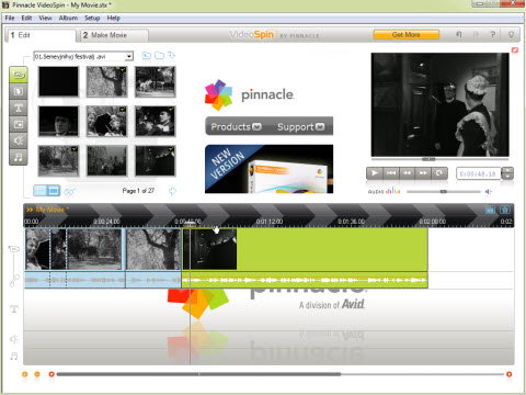 VideoSpin Top 5 softwares to create an overlay video