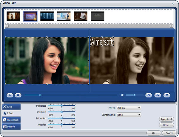 aimersoft video pro guide 3 Top 5 softwares to create an overlay video