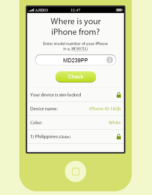 check iphone lock status check iphone carrier lock status by model or imei numbers 13809