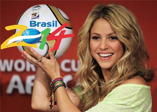 Shakira La La La Brazil 2014 World Cup 2014 Official Song: Battle between Shakira vs Pitbull
