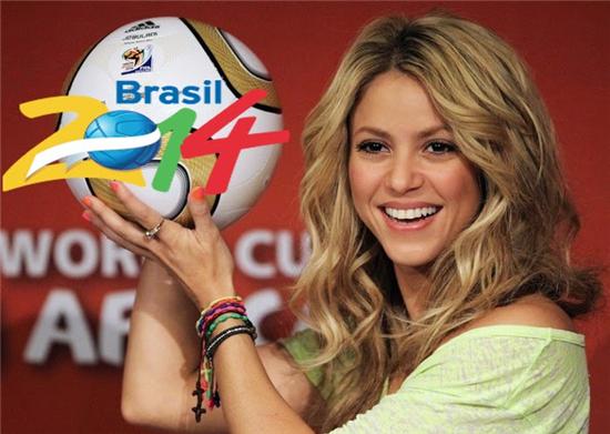 Shakira La La La (Brazil 2014)