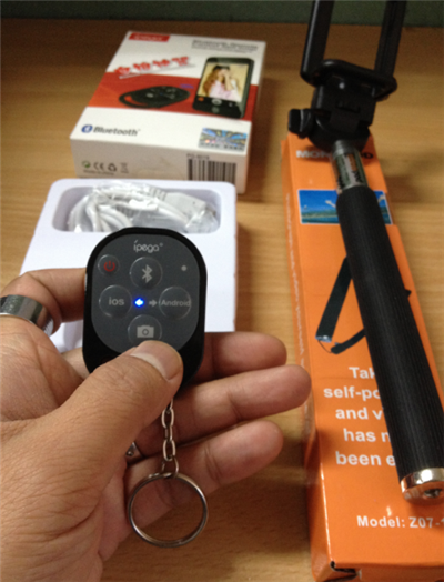 iPega Bluetooth Remote Camera Shutter