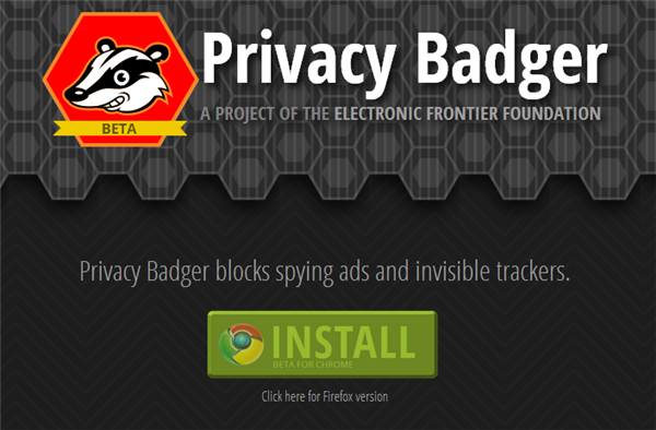 Privacy Badger Free Ad Blocker