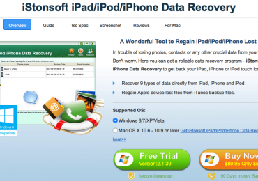 Regain your lost files easily with iStonsoft Data Recovery Software