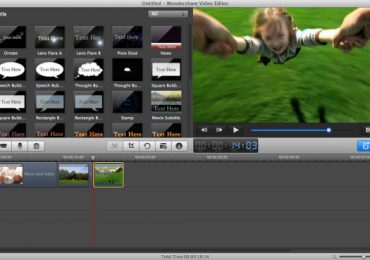 Best Video Editor For Mac: Wondershare Video Editor